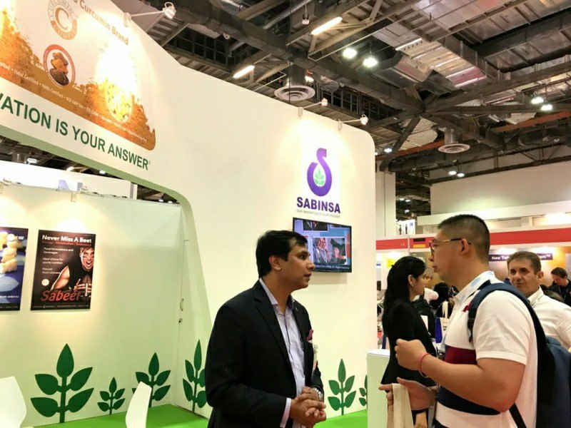 Sabinsa focuses on science supporting popular ingredients at Engredea trade show