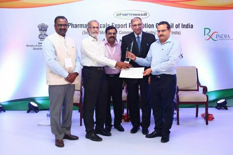 Sami-Sabinsa Honored by Pharmexcil for Export Excellence